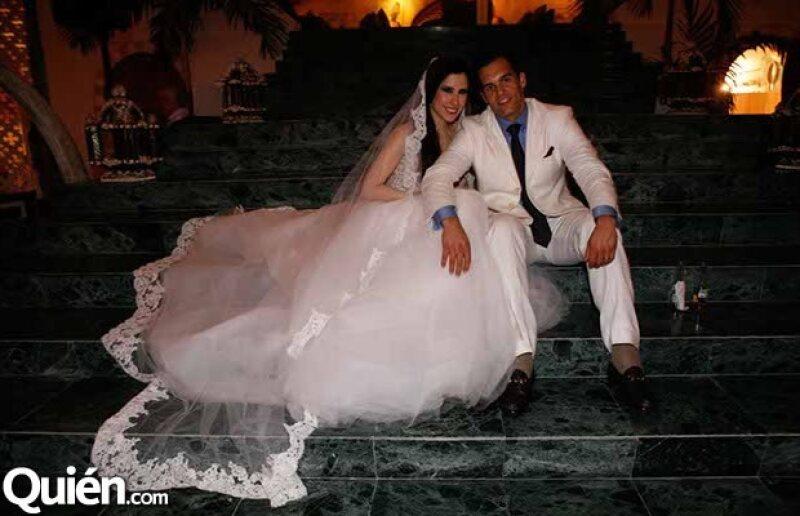 Natasha Rosell y Albert Romano