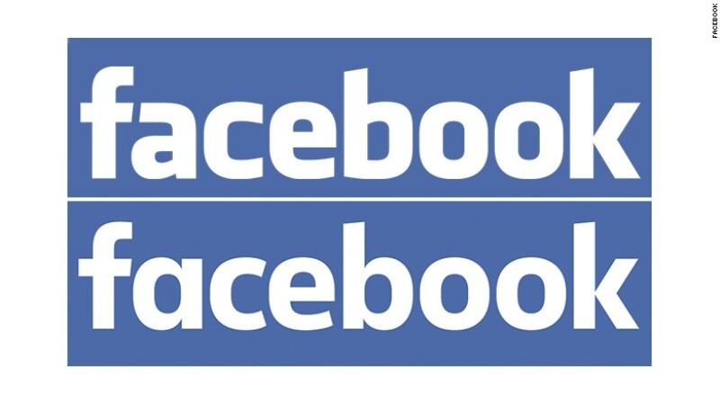 El nuevo logotipo de Facebook aparece en la parte de abajo (Foto: Cortesía/Facebook)