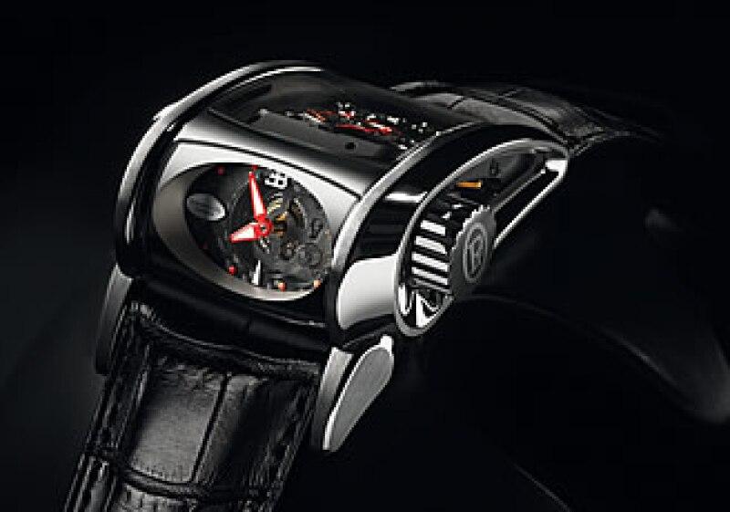 El Parmigiani Bugatti Super Sport, uno de los relojes presentados al inicio de esta feria. (Foto: Cortesía Parmigiani )