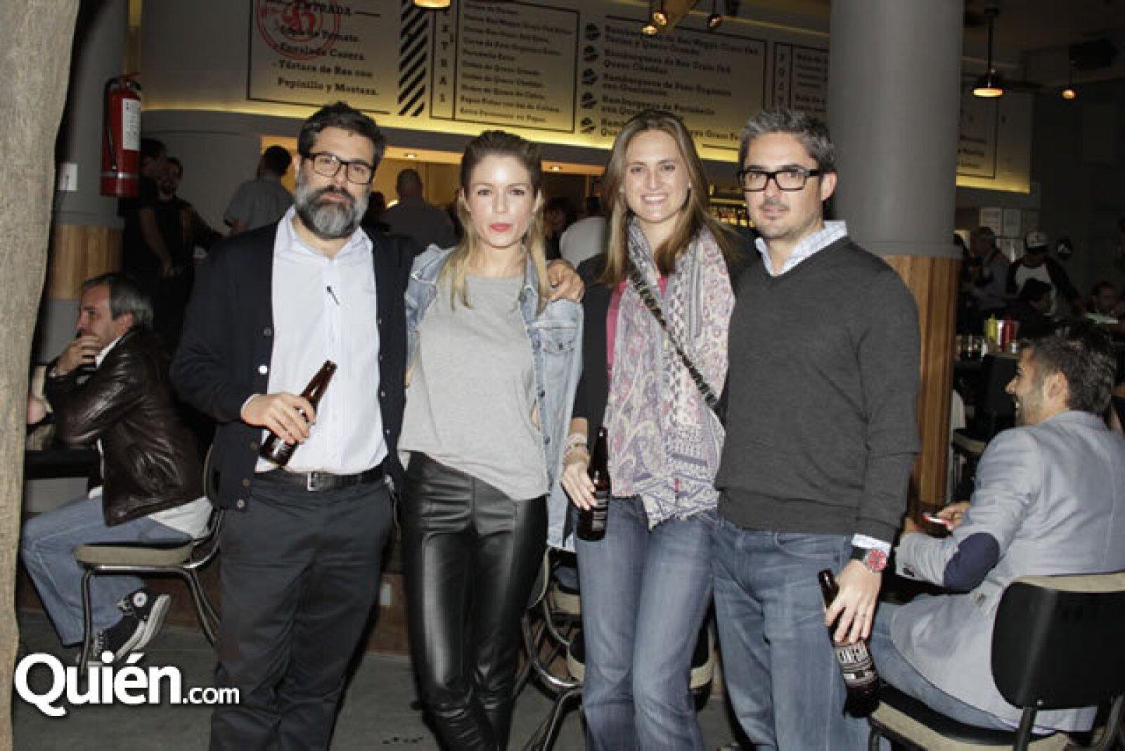 Ricardo Porrero,Micaela de Bernardi,Alejandra de la Rosa,Alonso de Garay