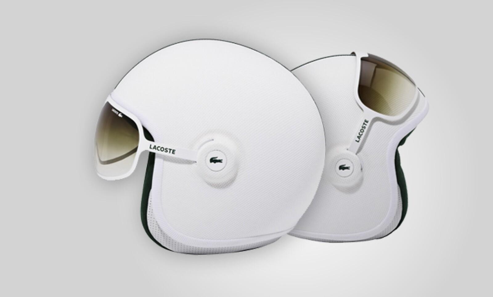 GPA Diseño ejecutó el casco de moto en carbono, disponible en tallas S, M, L y XL.