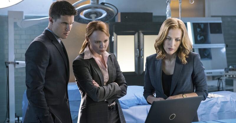Fox Mulder y Danna Scully