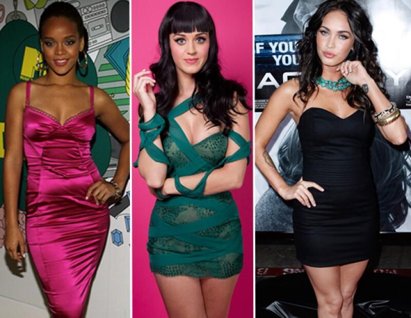 Este trío de famosas figuran en la lista de las 100 Mujeres más Sexys del Mundo 2012 de una revista británica. Checa quién más está en esta lista.