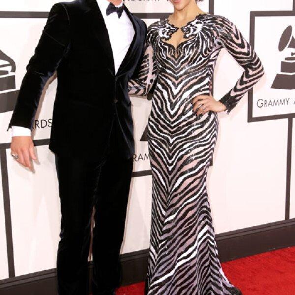 Robin Thicke y Paula Patton.