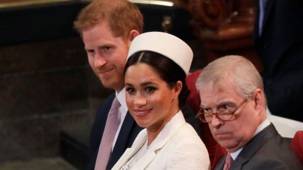 Príncipe Harry, Meghan Markle y príncipe Andrés