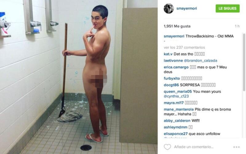 Hace unos días Usher nos sorprendió al publicar una foto desnudo en Snapchat, sin embargo, no ha sido el único que ha revelado más de lo previsto de esta manera.