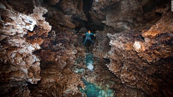 Una de las cuevas más profundas
