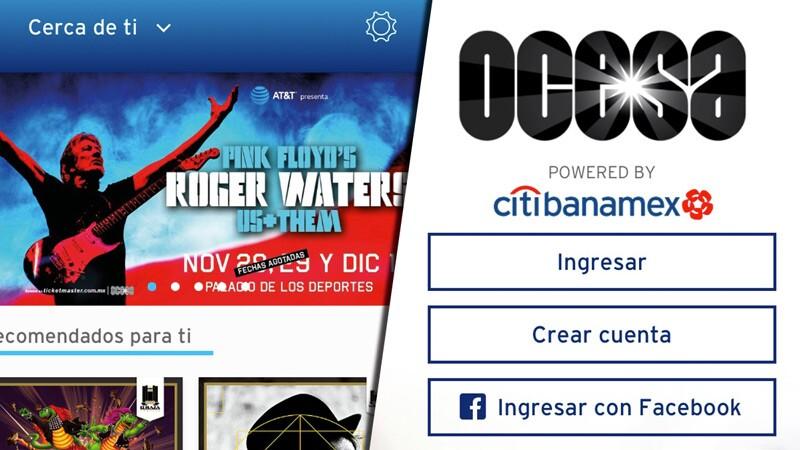 OCESA conciertos