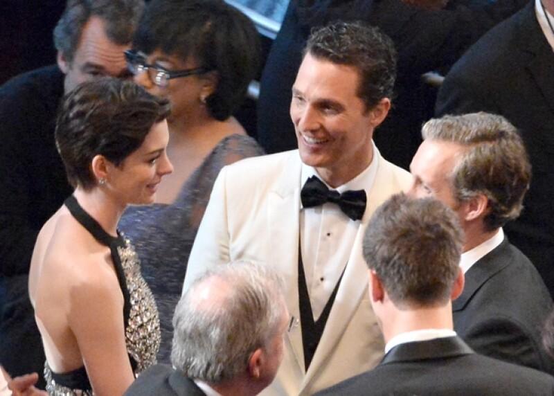 Anne Hathaway y Matthew afianzaron su amistad durante el rodaje de la última película de Christopher Nolan, `Interstellar Odyssey´.