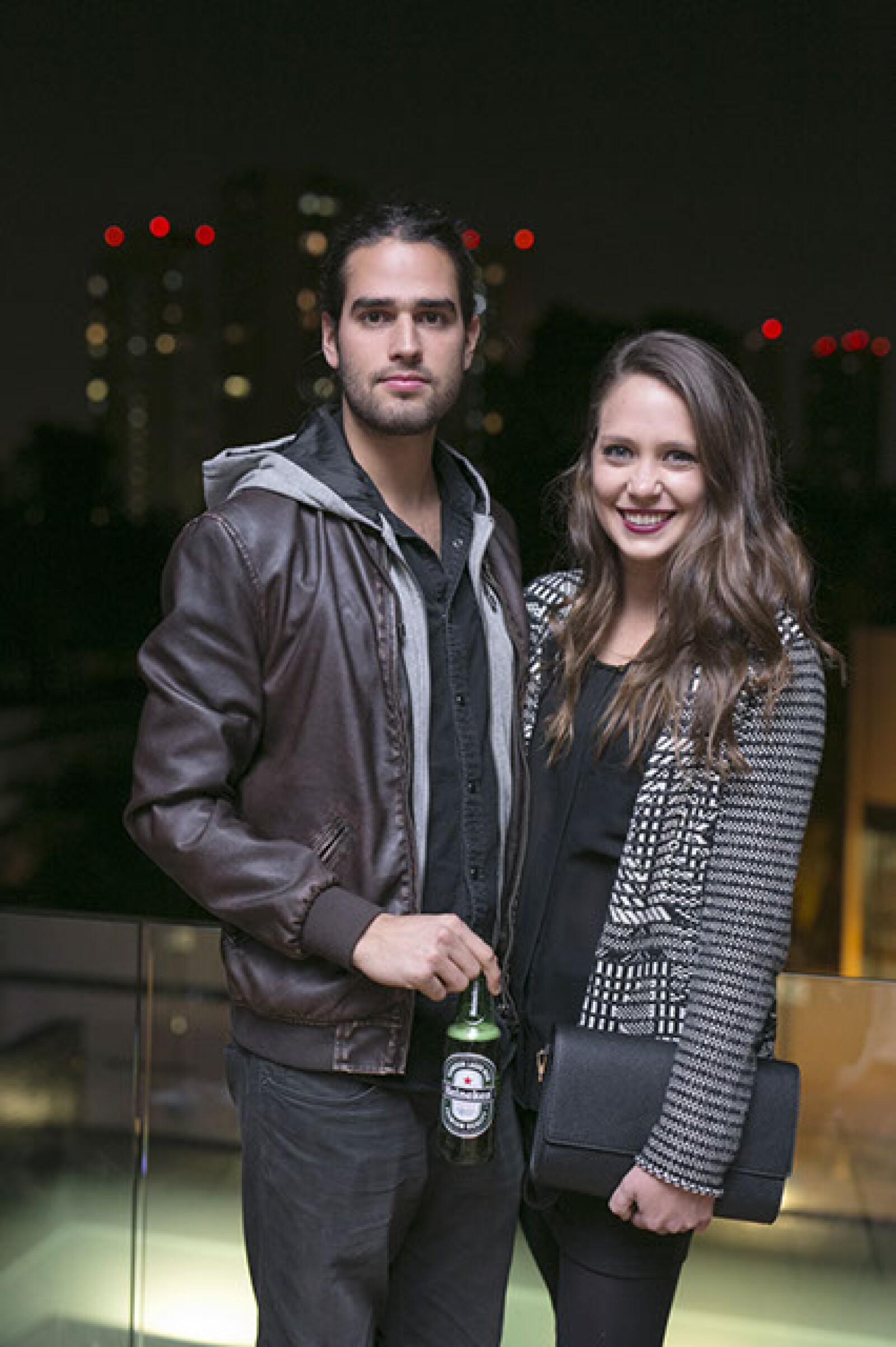 Andres Berjon y Regina de Hoyos