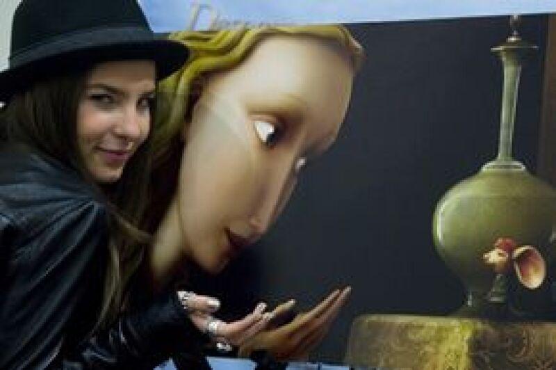 """Belinda reapareció en la premier e la película animada """"Despereaux, un pequeño gran héroe""""."""