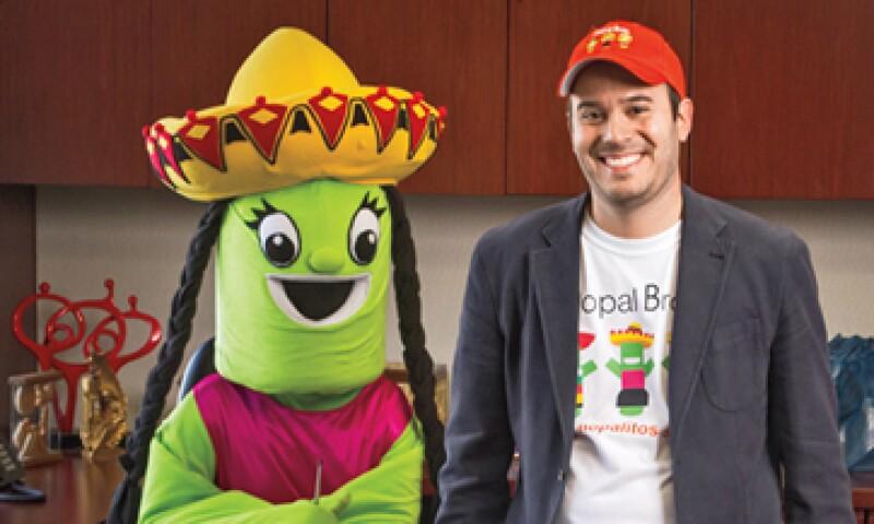 Óscar Torres ya negocia para que Nopal Bros. llegue a Nuevo León en 2014, a través de la cadena de supermercados HEB.  (Foto: Elmer Zambrano Garza)