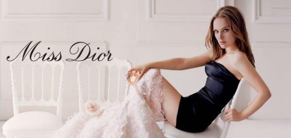 Natalie Portman como la novia fugitiva de Miss Dior.