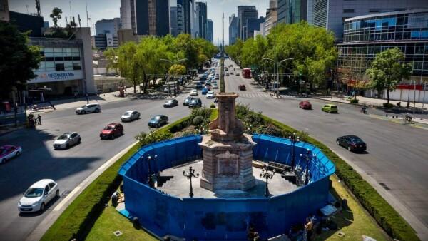 estatua Cristóbal Colón