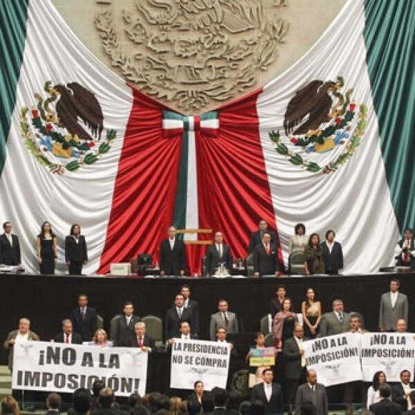 protesta no a la imposicion camara de diputados