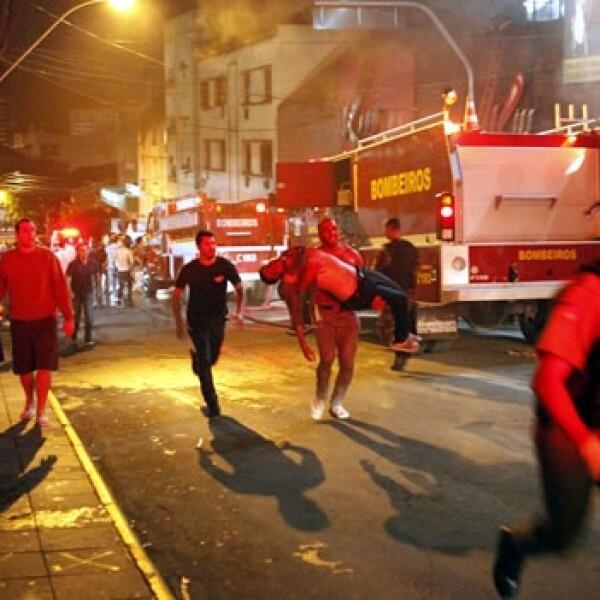 Incendio en Brasil