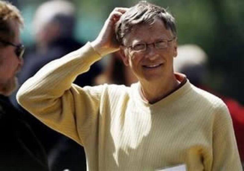 Bill Gates es el multimillonario más genersoso, según Forbes.  (Foto: Reuters)