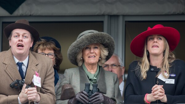 Duchess Of Cornwall Attends Cheltenham Races Ladies Day