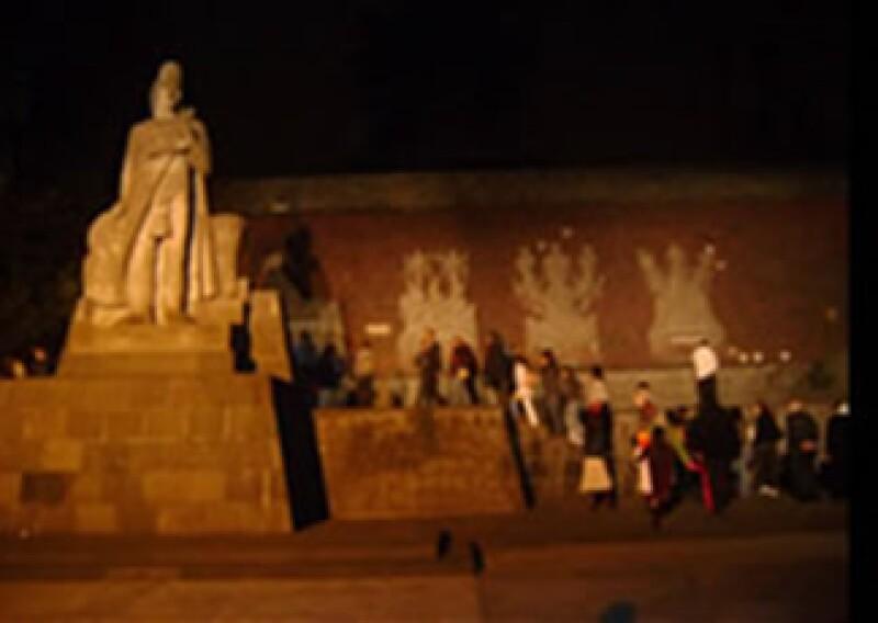 El paseo tiene una duración de una hora y media y podrás bajarte del tren para apreciar mejor los monumentos. (Foto: Chapultepec.org)