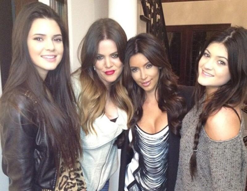 Kendall, Khloe, Kim y Kylie.