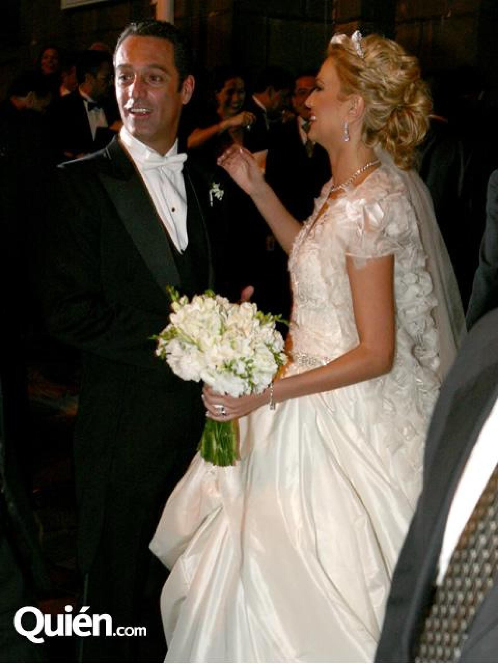 María Elena Torruco se casó con Carlos Slim Domit el 9 de octubre de 2010