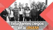 Curso para personas ciegas en la UNAM