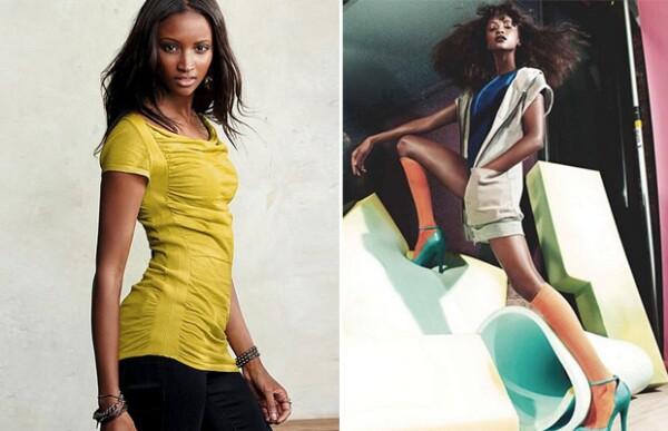 Lyndsey en algunos de sus shoots para distintas marcas.