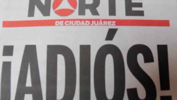 El diario Norte cierra por inseguridad
