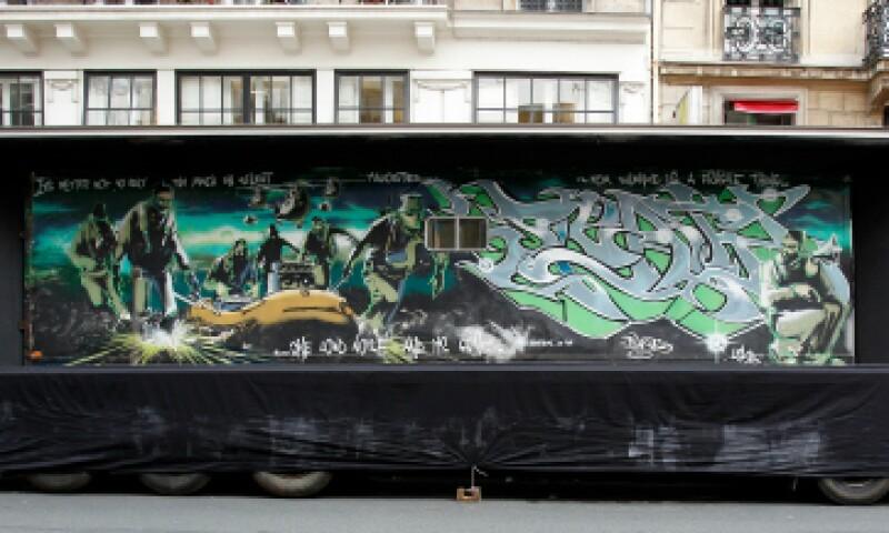 La obra se expuso en París antes de su venta. (Foto: Getty Images)