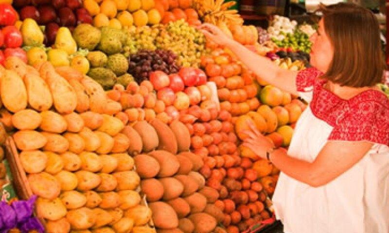 Los alimentos también contribuyeron a la inflación de dicembre en 2013. (Foto: Getty Images)