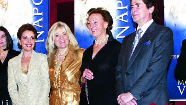 Marta Sahagún de Fox, Liliana Melo de Sada, Princesa Napoleón, Federico Sada