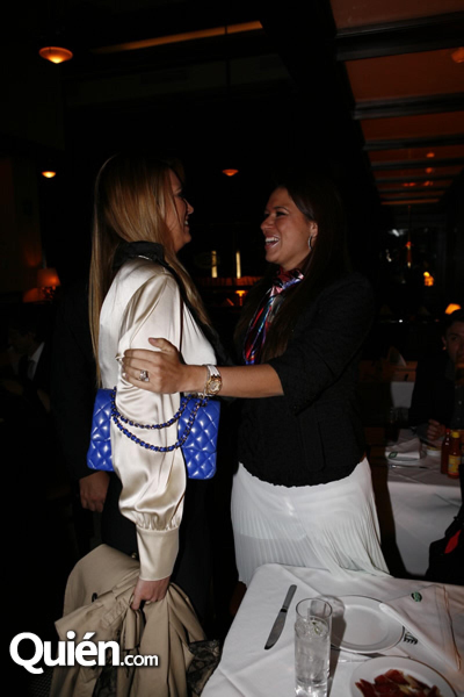 María Elena y Gloria Torruco