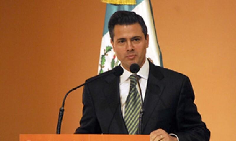 Enrique Peña Nieto no ofreció metas, fechas concretas ni montos para que su programa de productividad opere en el país. (Foto: Notimex)