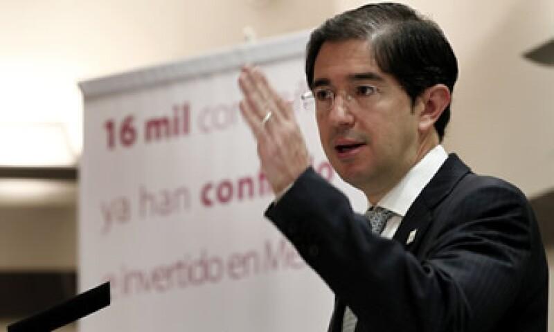 Dionisio Pérez Jácome, titular de la SCT, dijo que que el rescate incluirá también las concesiones que expiran hasta 2020. (Foto: Notimex)