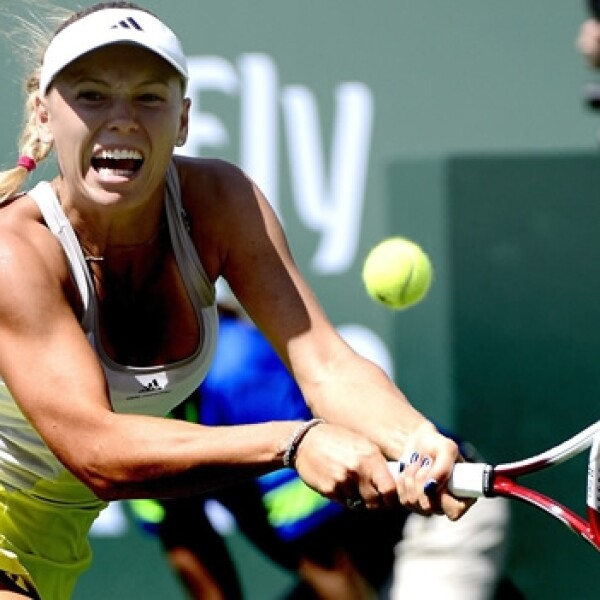 Caroline Wozniacki, final, indian wells