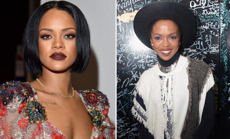 Rihanna y Lauryn Hill fueron las estrellas que brillaron por su ausencia.