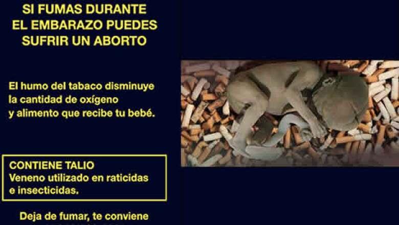 A partir de esta semana las cajetillas de cigarro mostrarán imágenes y anuncios de advertencia sobre los efectos de fumar.