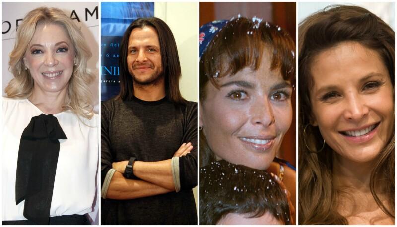Edith González, Eduardo Palomo, Mariana Levy y Lorena Rojas