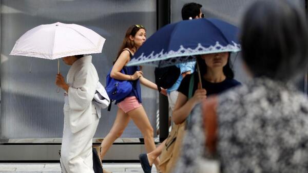 Una inusual ola de calor le cuesta la vida a docenas de personas en Japón