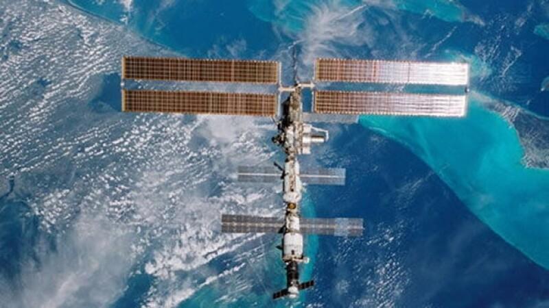 Panoramica de la estacion espacial internacional