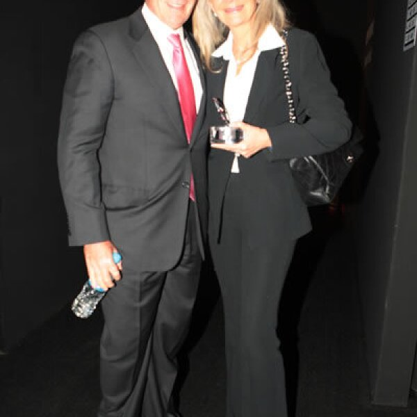 Abraham Franklin y Gina Diez Barroso