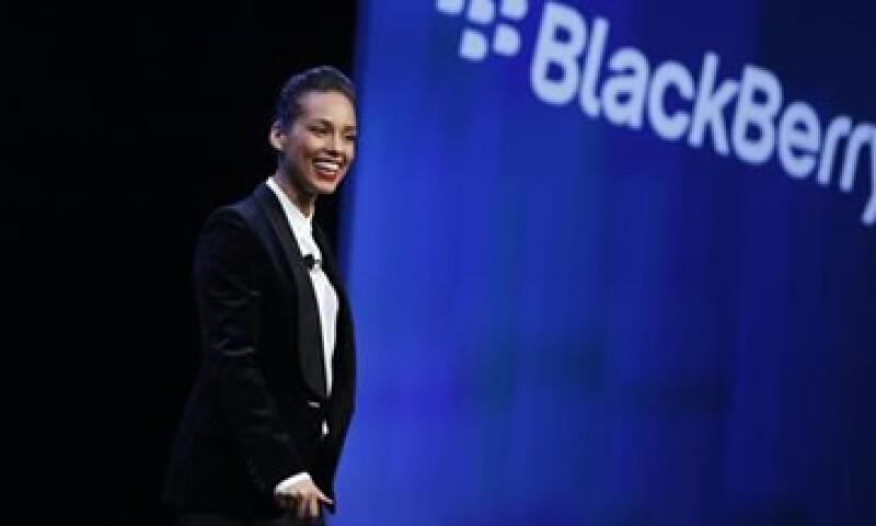 BlackBerry agradeció la colaboración de Alicia Keys. (Foto: Reuters)