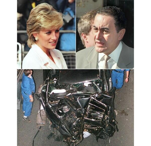 Diana de Gales y Dodi al Fayed, los protagonistas de la trágica historia.