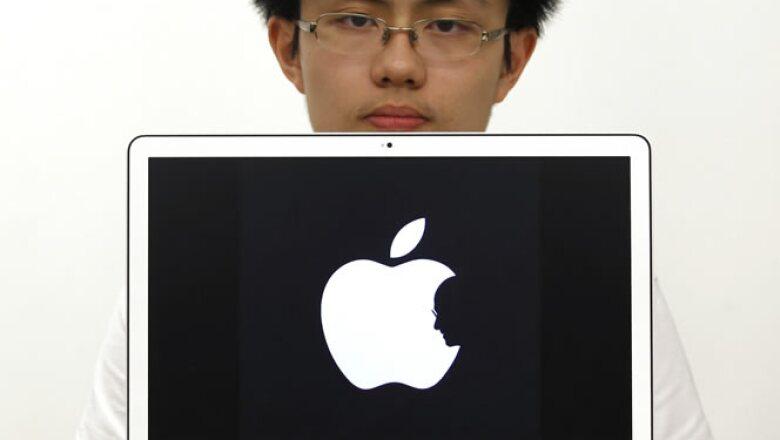 Jobs fue el artífice del crecimiento de Apple, que la ha llevado a ser, por algunas semanas, la firma más valiosa de Wall Street.