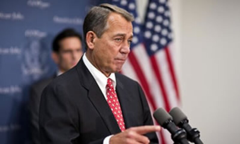 El plan de John Boehner fue descalificado por el líder demócrata en el Senado, Harry Reid.  (Foto: AP)
