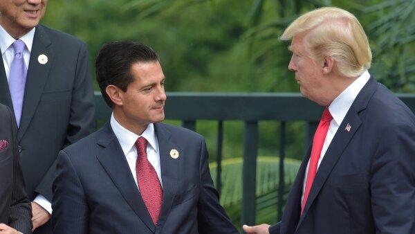 Encuentro entre Peña y Trump