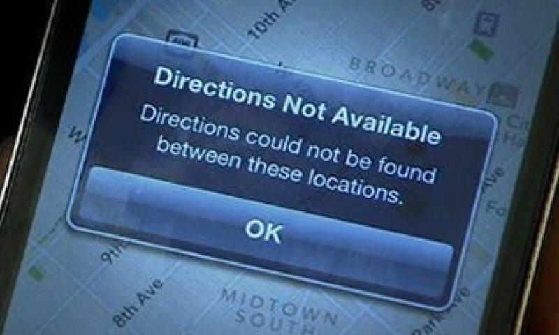 Apple decidió quitar la aplicación Google Maps de sus dispositivos.  (Foto: AP)