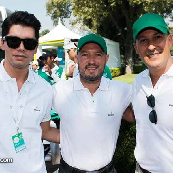 Jeovane Nieto,Renato Sandoval y Max Linares