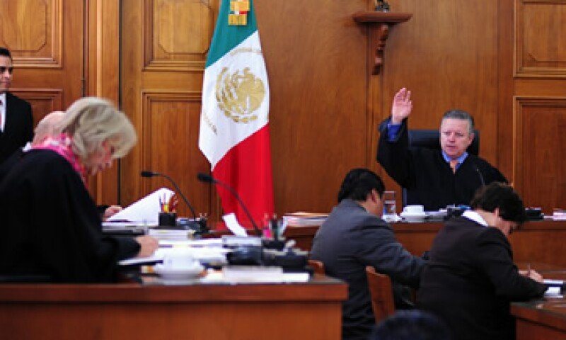 En la Suprema Corte de Justicia de la Nación, el ministro Arturo Zaldívar se excusó de la decisión.  (Foto: Notimex)