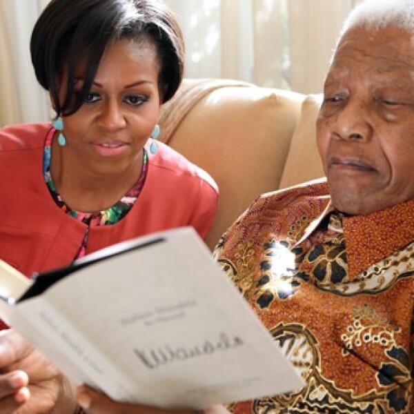 Michelle Obama - Nelson Mandela